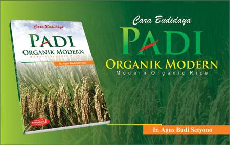 Buku Cara Budidaya Padi Organik Modern | Modern Organic Rice | Penulis : Ir. Agus Budi Setyono