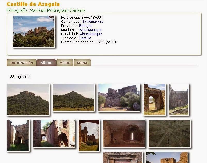 CastillosNet: Castillo de Azagala (Alburquerque)