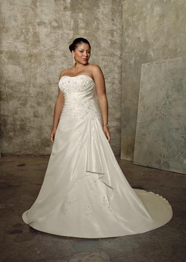vestidos de novia para gordas