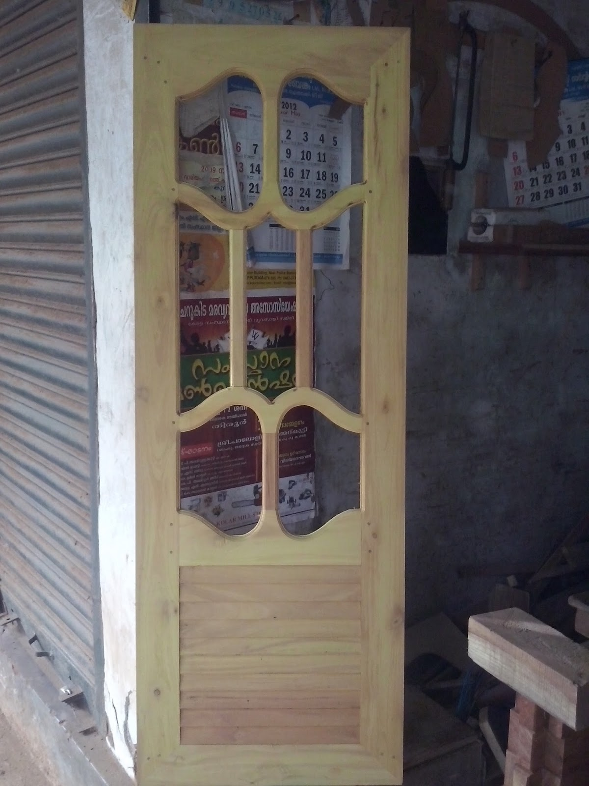 Kerala Style Wood Works   Wooden Windows Design Photos