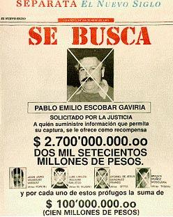 Pablo Escobar el héroe Colombiano