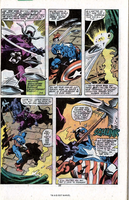 Captain America (1968) Issue #256 #171 - English 24
