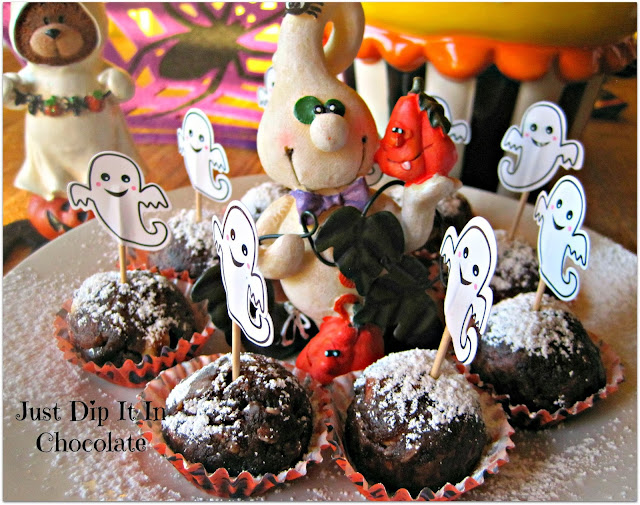 "Ghost Busters Halloween Brownies Recipe, Named after an all time favorite movie, these old time treats will delight everybody in your family! They will be ""calling"" for more! #Halloween #halloweentreats #brownies"