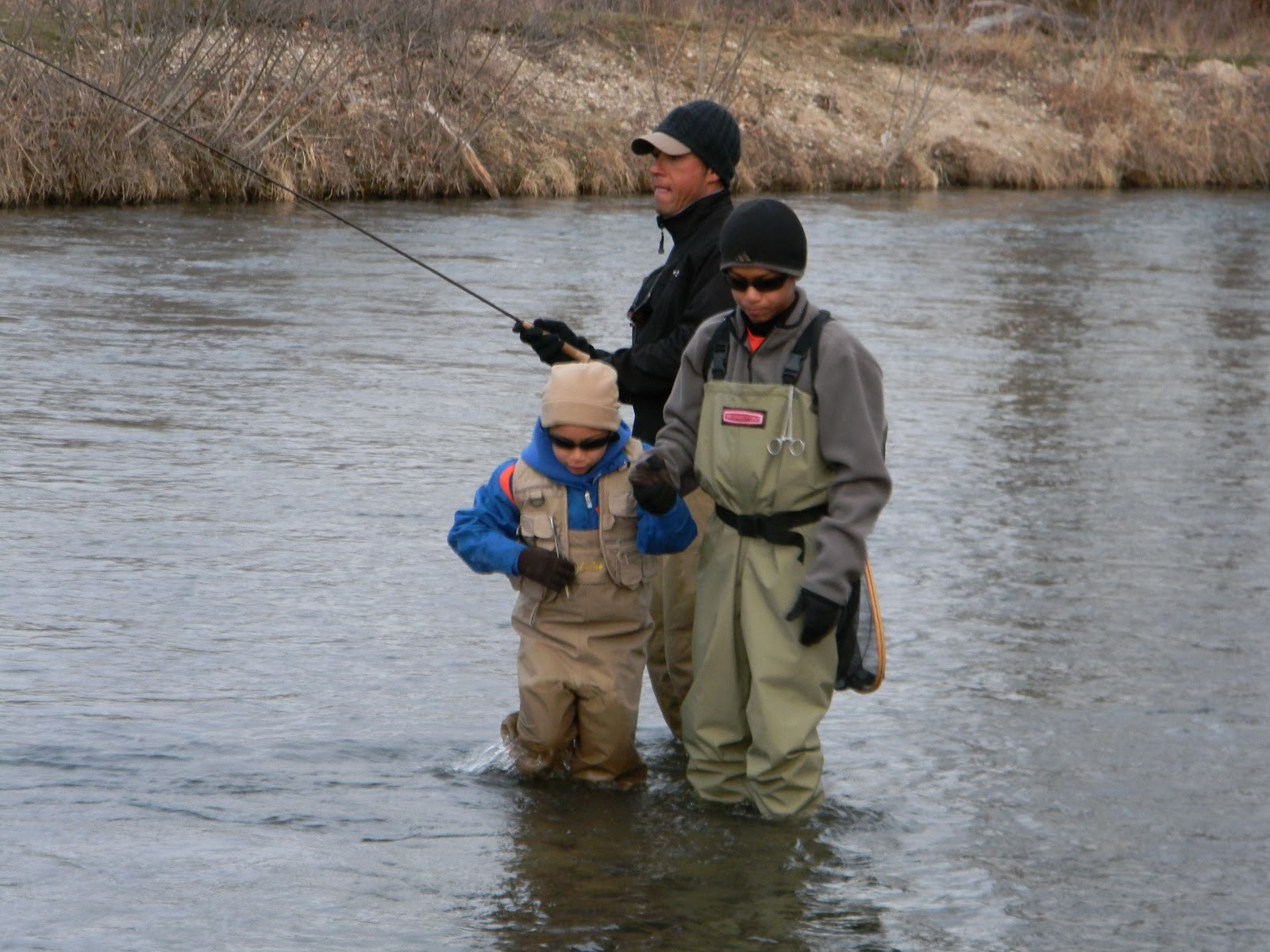 The quixotic angler the boise river near eagle id for Boise river fishing