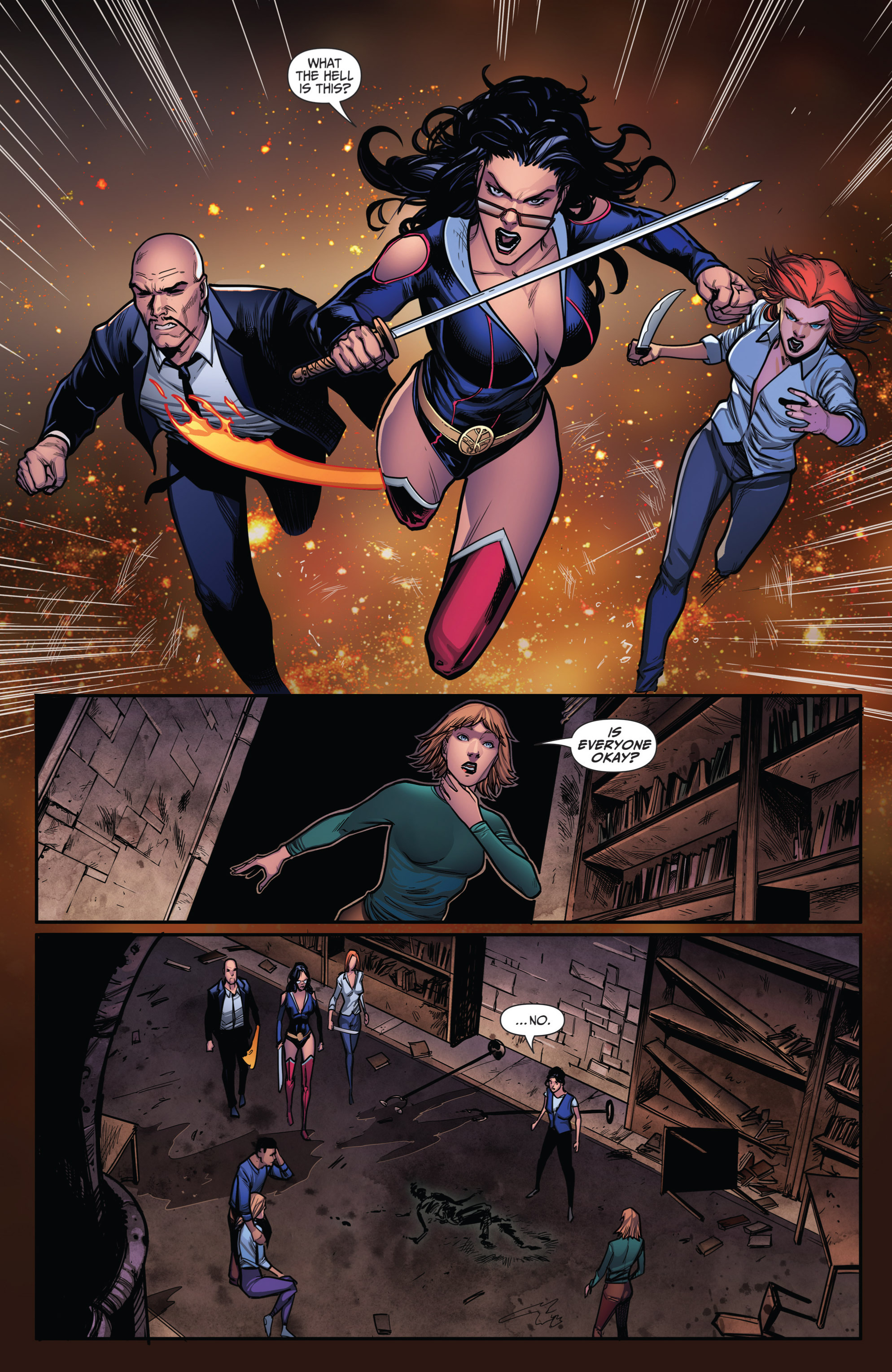 Grimm Fairy Tales (2005) Issue #108 #111 - English 19