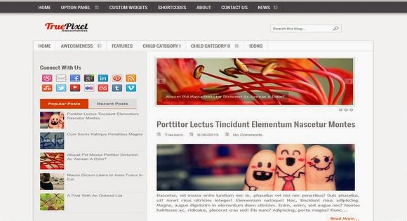 Personal Blog Blogger Template for Personal Blog Free Download