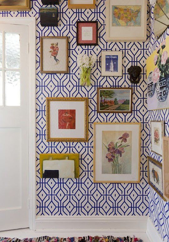 Belle Maison Decorating With Wallpaper 3 Dramatic Looks