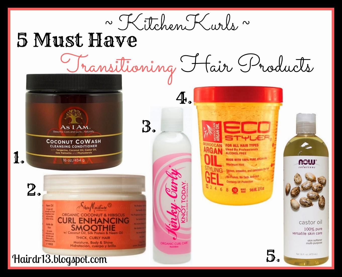 Natural hair care regimen transitioning