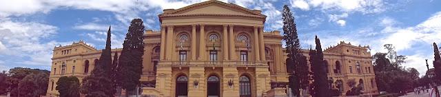 VISTA PANORÂMICA DO MUSEU DO IPIRANGA