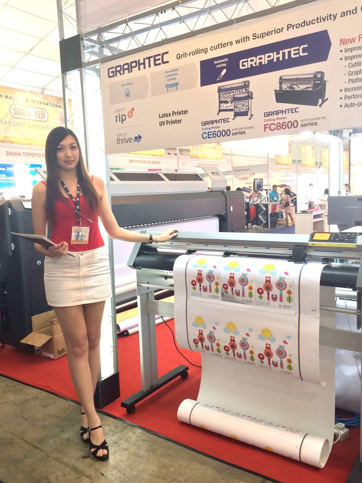 MY FREELANCER LIFE CHEW ELAINE 3D Printer Promoter Metaltech