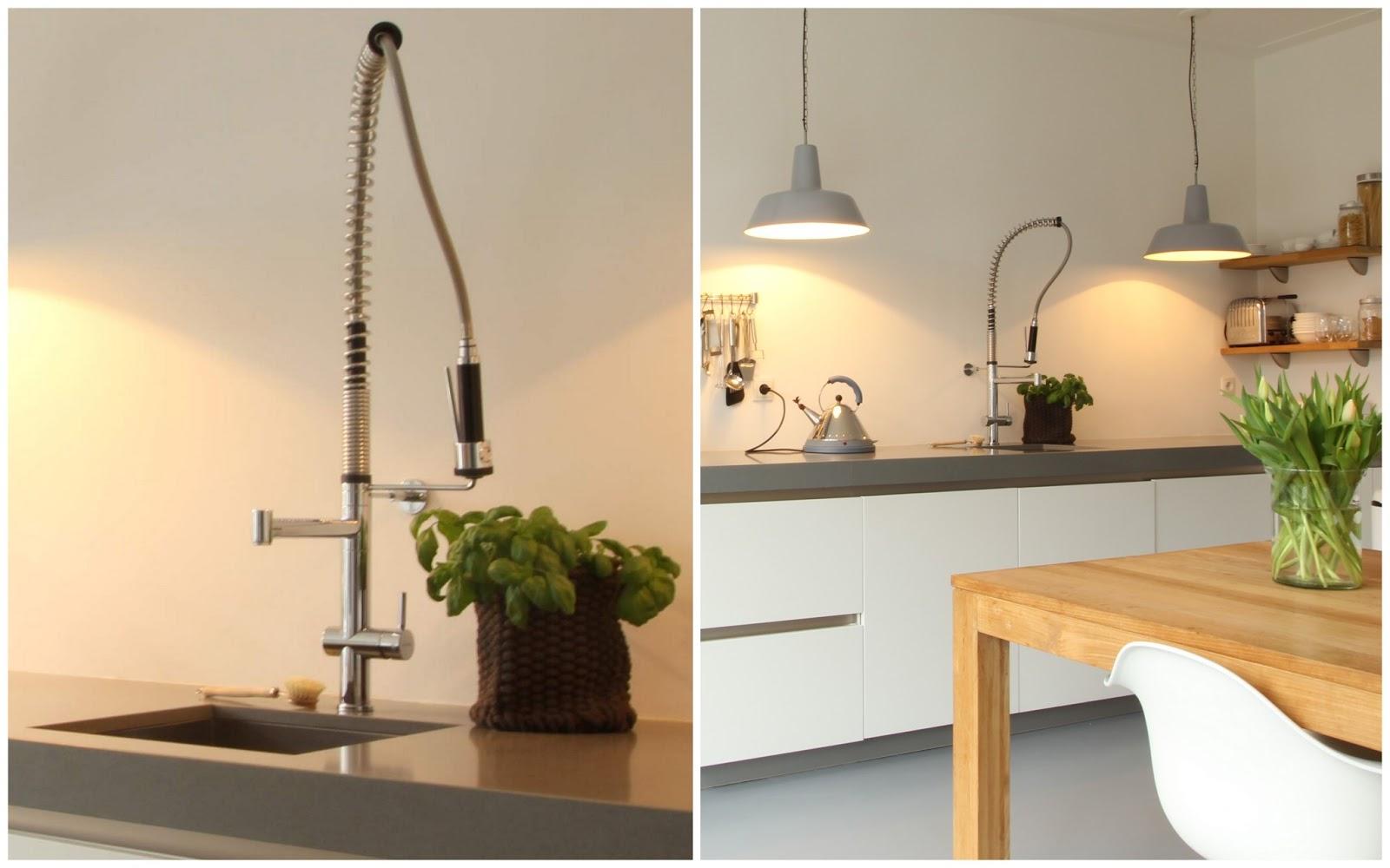 Gietvloer Keuken Plaatsen : over een prachtige gietvloer en openslaande deuren naar de tuin