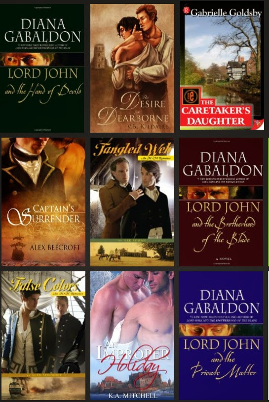 from Quinton historical gay fiction