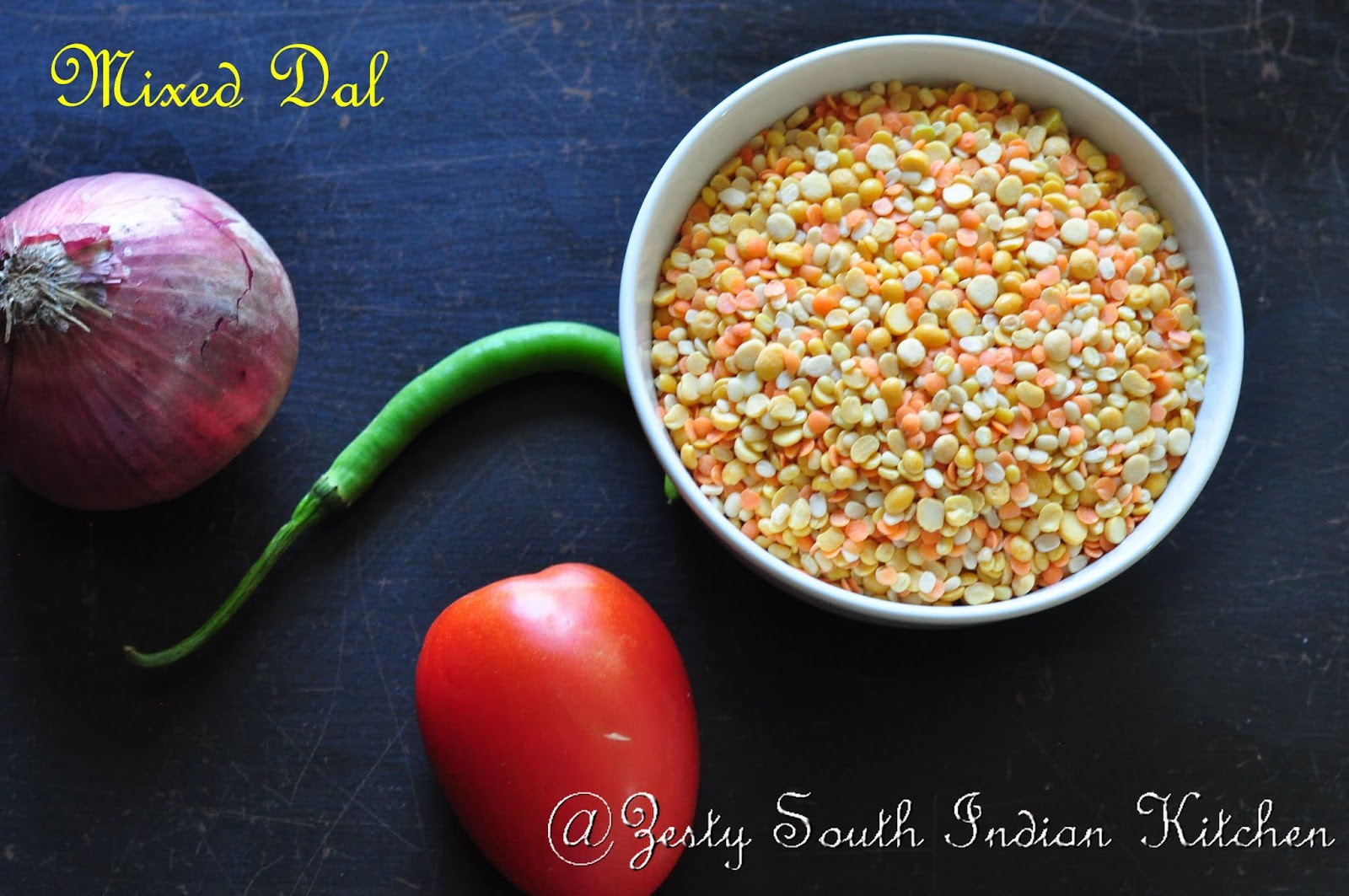 Dal Tadka: Seasoned Indian Style Lentil Soup. - Zesty South Indian ...