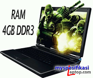 Laptop Gaming 5 Jutaan RAM 4 GB DDR3