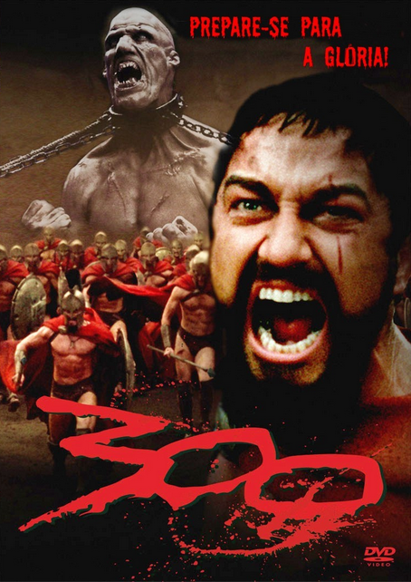 Filme 300 Dublado AVI DVDRip