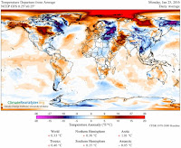 Temperature Departure from Average (Credit: climatereanalyzer.org) Click to Enlarge.