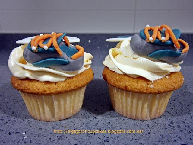 cupcakes zapatillas