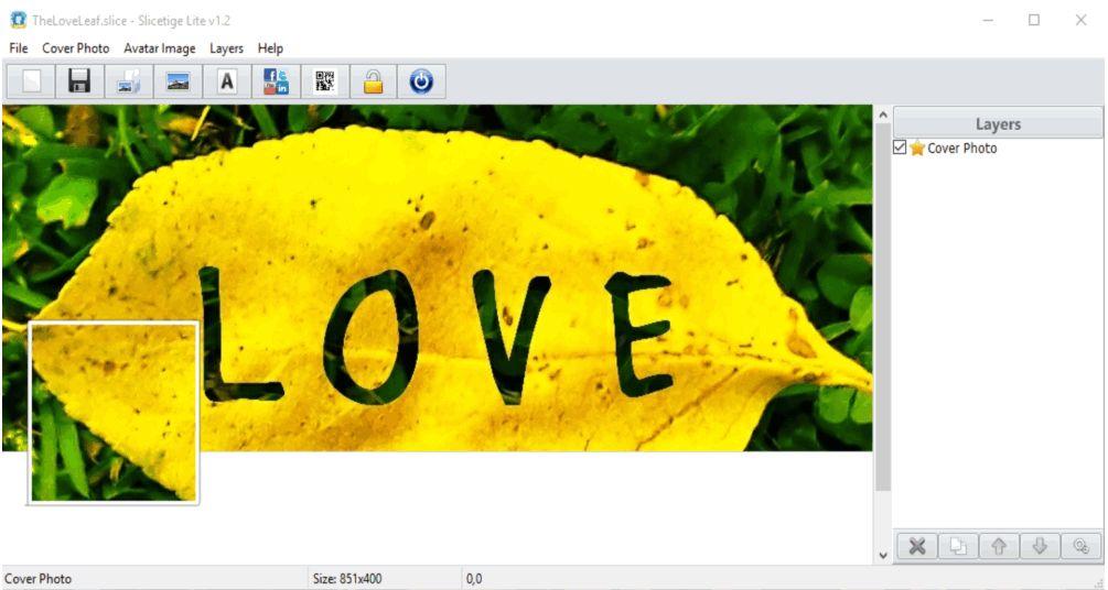 Software pembuat foto sampul facebook gratis komputer windows pc