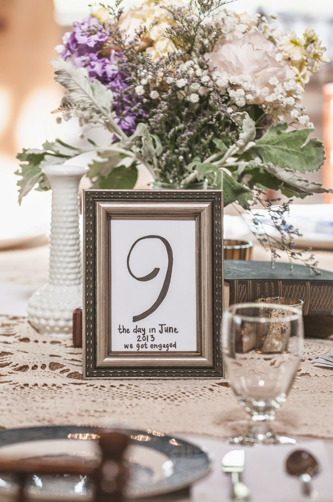 Significant Wedding Table Numbers
