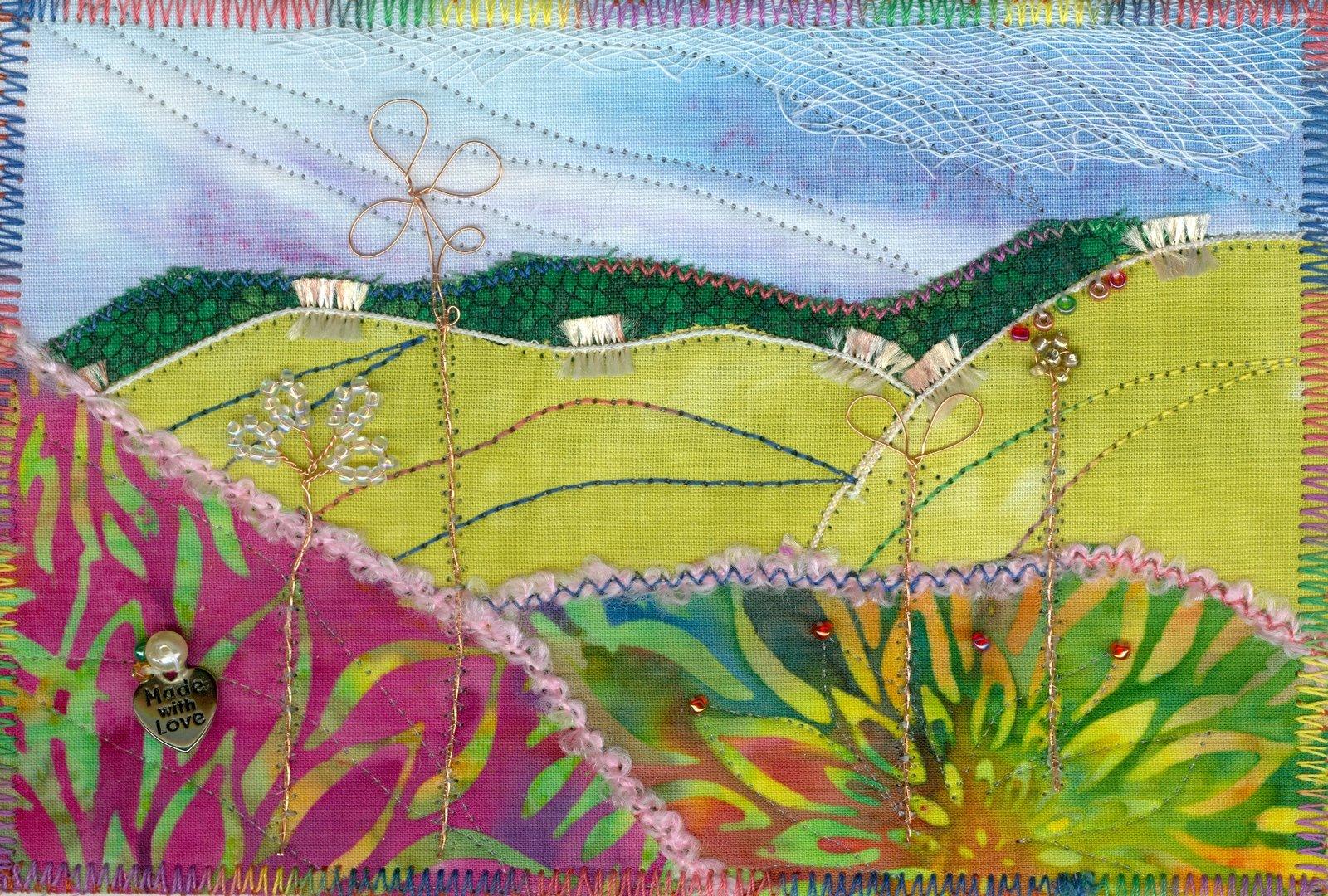 Vivian Helena Creates Fabric Landscapes