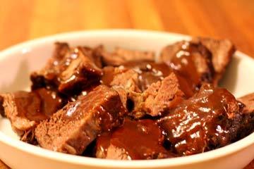 Secret Recipe Beef Roast Braised in Zinfandel