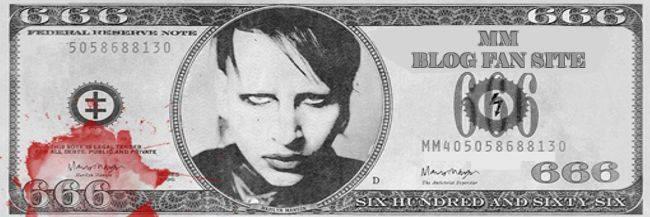 Marilyn Manson | Blog Fan Site