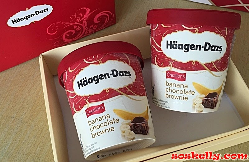 Digging In, New Banana Chocolate Brownie by Haagen-Dazs, Haagen-Dazs, Banana Chocolate Brownie, Haagen-Dazs Ice Cream