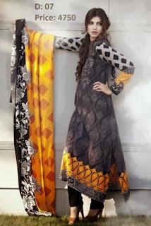 Winter Dresses Maria-B Linen Designs