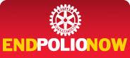 Ajude o Rotary na luta contra a Poliomielite.