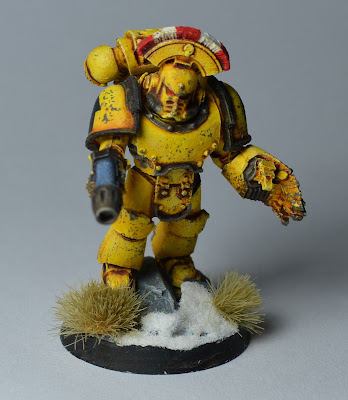 Pre-Heresy Imperial Fists Mark IV Sergeant