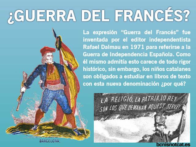 Tras la invasión napoleónica España libró la Guerra de Independencia