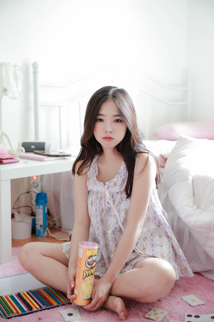 1 Cutie Haneul OnOff - very cute asian girl-girlcute4u.blogspot.com