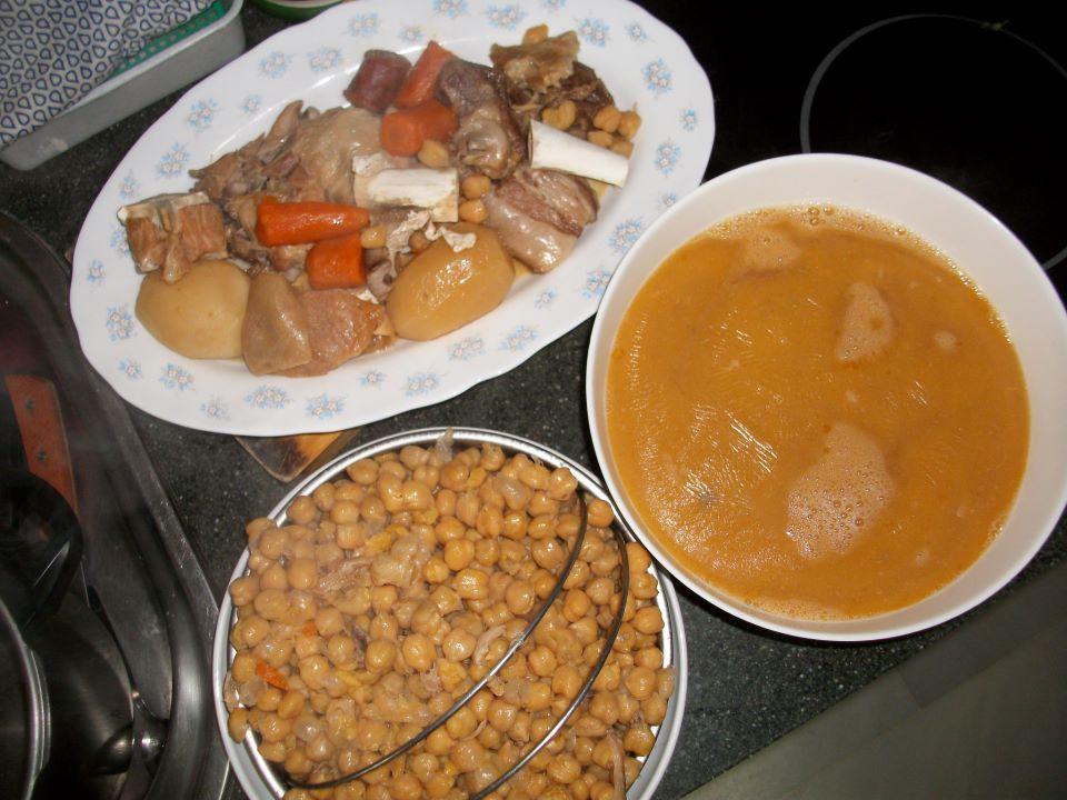 Aprendiendo a cocinar aprendiendo a cocinar con estela - Cocido en olla express ...