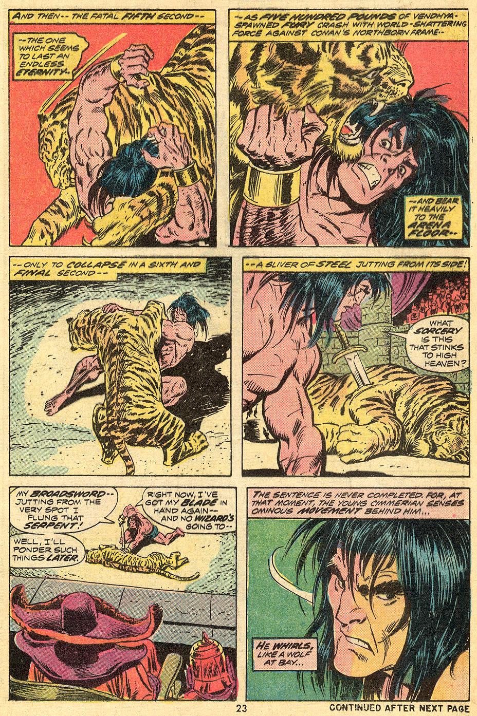 Conan the Barbarian (1970) Issue #33 #45 - English 14