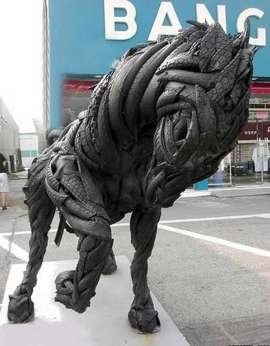 The amazing stuff what to do with old tires Things to make out of old tires