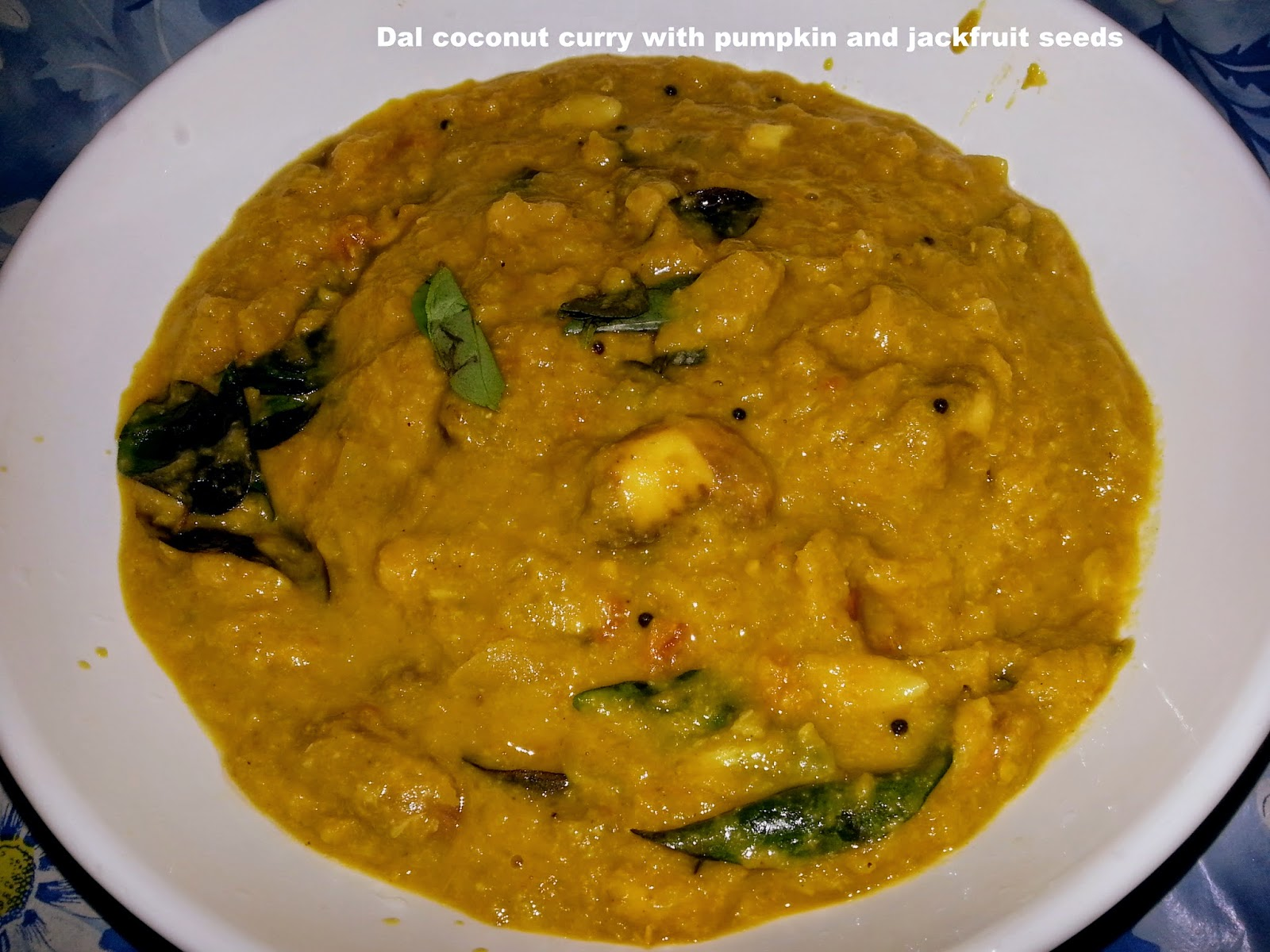 Fams culinary recipes kerala style coconut dal curry with pumpkin fams culinary recipes kerala style coconut dal curry with pumpkin and jackfruit seeds forumfinder Gallery