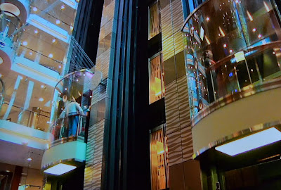 Glass Elevators On Oasis Of The Seas