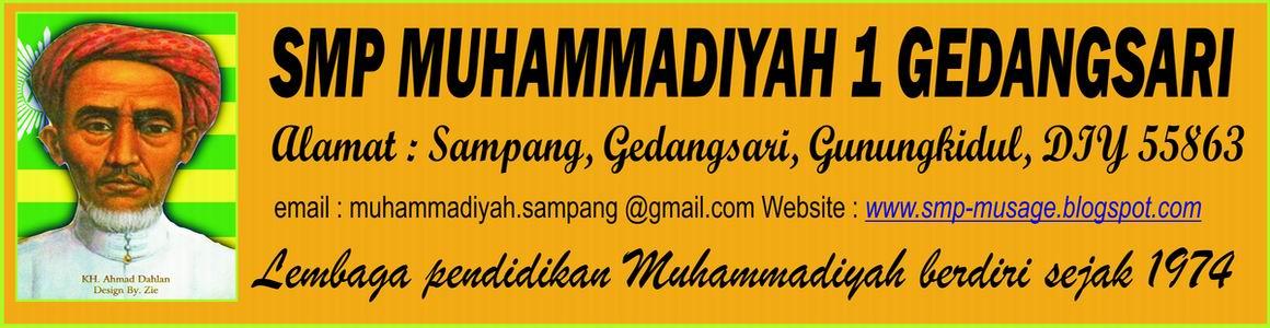 SMP MUHAMMADIYAH 1 GEDANGSARI