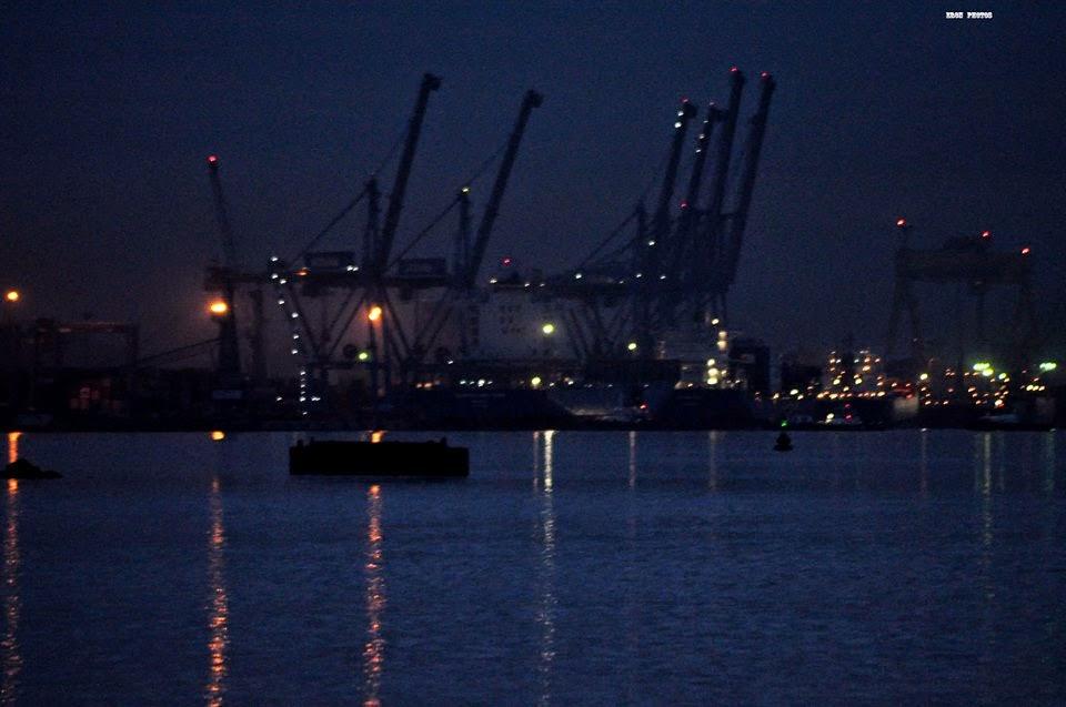 Porto de Rio Grande a noite