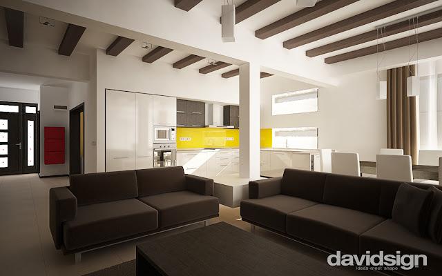 design living bucatarie