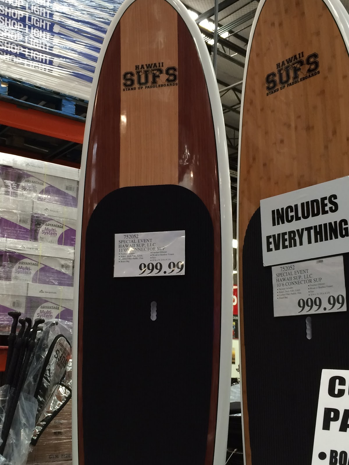 Hawaii Sups Connector Stand Up Paddleboard Costco Weekender