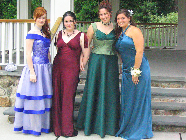Plus Size Prom Dresses Model