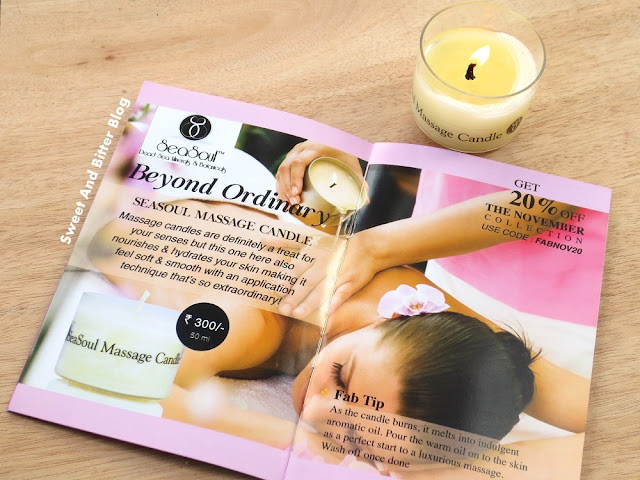 Seasoul Massage Candle
