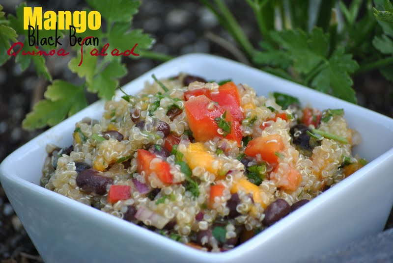 The Farm Girl Recipes: Mango Black Bean Quinoa Salad