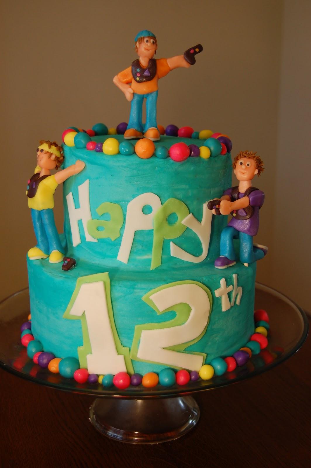 Cheat Day Laser Tag Birthday Cake