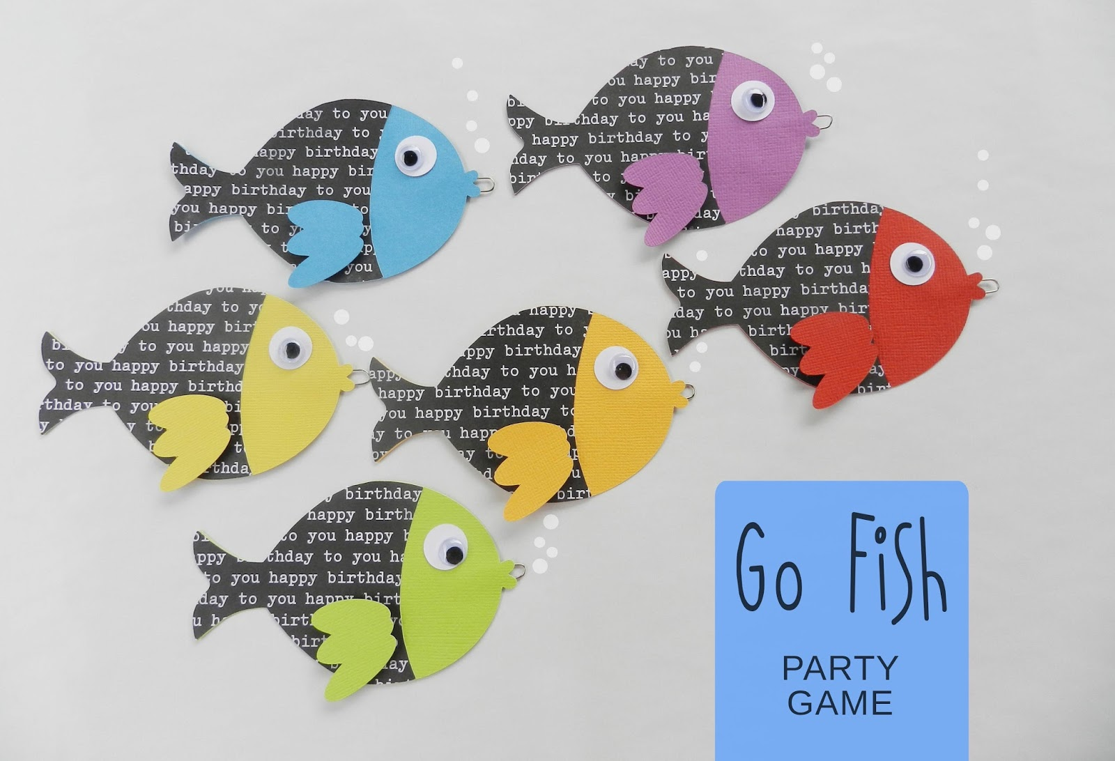 It 39 s written on the wall go fish birthday party game for for How do you play go fish