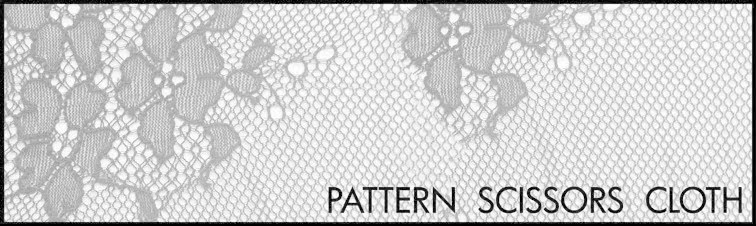 pattern ~ scissors ~ cloth