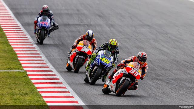 Klasemen Pembalap MotoGP 2014 hingga seri Catalunya - Spanyol