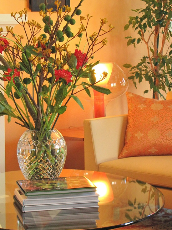Decoracion Sala Comedor Color Naranja ~ Decoraci?n de Salas de color Naranja  C?mo arreglar los Muebles en