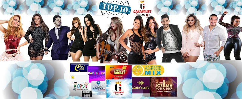 #TOP10 TODOS OS DOMINGOS AS 20:00HS AQUI NO SITE